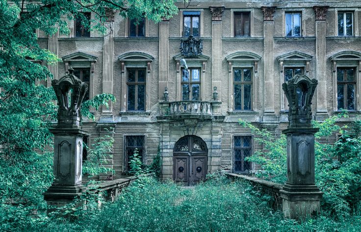 Abandoned Palace In Poland Places Time Forgot