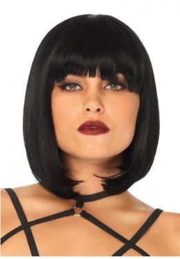 1920s Hairstyles History- Long Hair to Bobbed Hair Adult Short Natural Bob Wig $33.99 AT vintagedancer.com