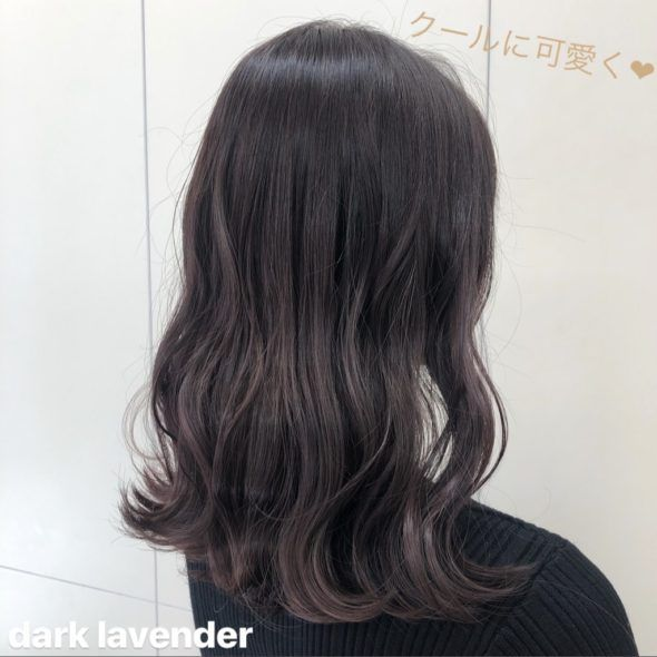 表参道 Erika 春のおすすめトーンアップ ダークカラー ヘア