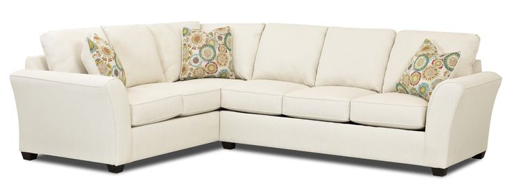 Sedgewick Transitional Sectional Sleeper Sofa with Dreamquest Mattress by Klaussner | Wolf Furniture