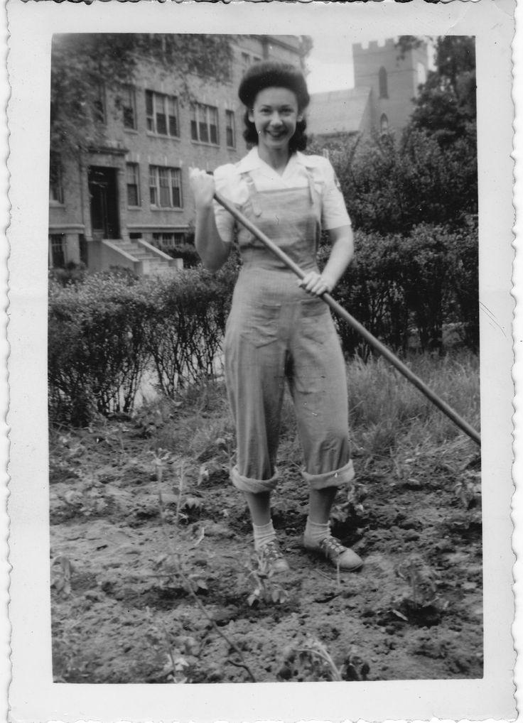Vintage Victory Garden, June 1944 ~