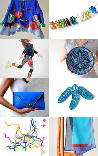 Blue Spring by Grazim on Etsy--Pinned with TreasuryPin.com