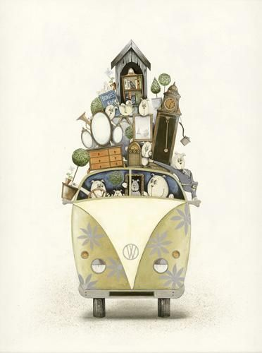 best price for Moving House by Gary Walton - Art For All, art prints, limited editions and originals