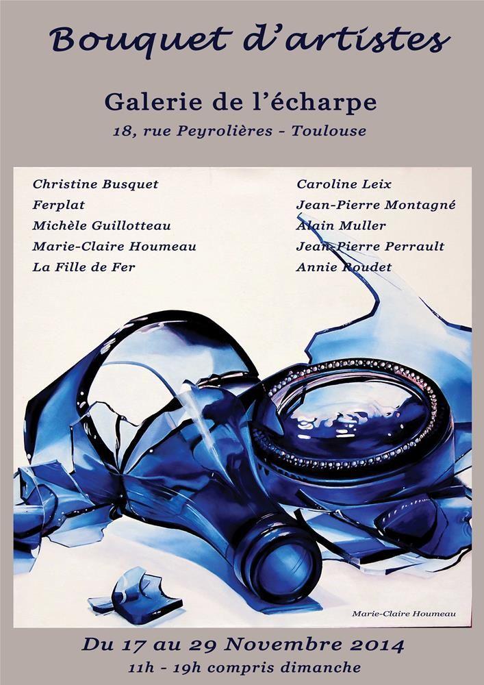 exposition à Toulouse Un bouquet d'artistes