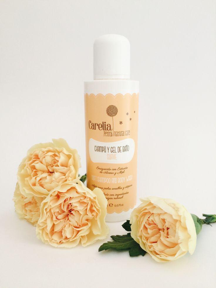 Shampoo baby & kids Natural & Organic cosmetics www.carelia.es