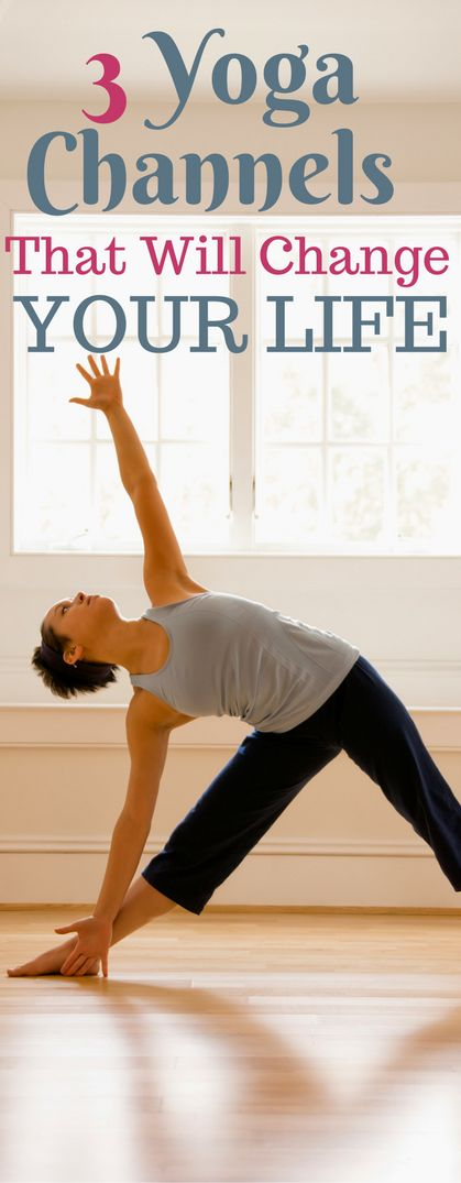 These 3 yoga youtube channels with amazing yoga videos that are great workouts!!