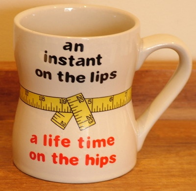 Collectible Vintage coffee mug  An instant on the lips