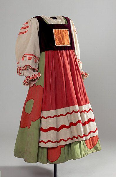 GONCHAROVA , Natalia COLONEL W. DE BASIL'S BALLETS RUSSES KARINSKA , Barbara |Costume for a female subject of King Dodon