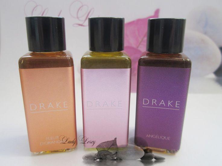 Les huiles parfumées Drake sont d'une qualité redoutable !  Parfums Fleur d'Oranger, Monoï-Tiaré, Angélique... Envoûtants....  http://www.lady-lorcy.com/#!huiles-parfumees-/cb20