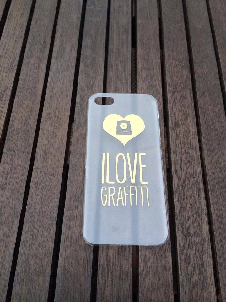 Carcasa iPhone 5/5s ilovegraffiti