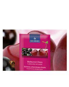 Sir Henry Tea - Blackcurrant Cherry 25 x 2gr