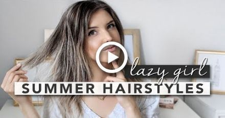 3 Lazy Girl Summer Hairstyles for FINE HAIR,  #FINE #Girl #Hair #Hairstyles #Lazy #Summer,  #...