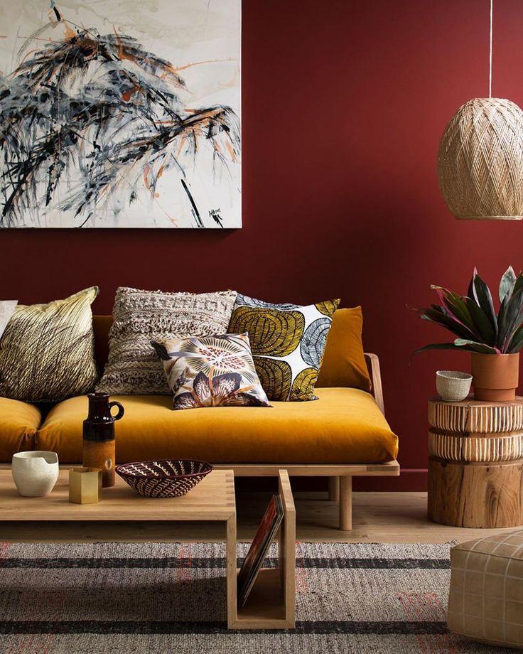 la couleur jaune moutarde pour une d co affirm e picnic. Black Bedroom Furniture Sets. Home Design Ideas