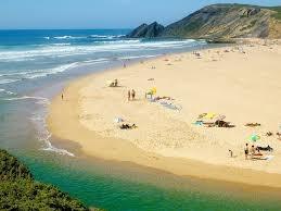 Praia da Amoreira (concelho de Aljezur), na Costa Vicentina (Algarve).