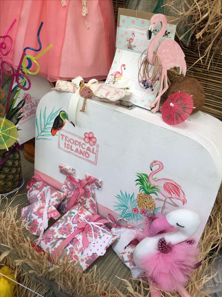 "Aloha!!! Nikolas Ker ""the store"" #aloha #summer #decoration #nikolas_ker #athens #greece #store #shop #vaptisi #vaftisi #baptism #flamingo #tropical_island"
