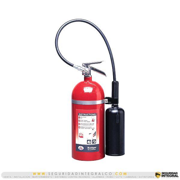 ► Extintor de CO2, BC 10 Lbs ● B10V
