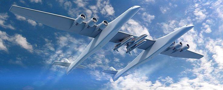 Гигантский самолёт, по планам создателей, впервые отправится в полёт в 2019 году. ФОТО Stratolaunch/Фейсбук