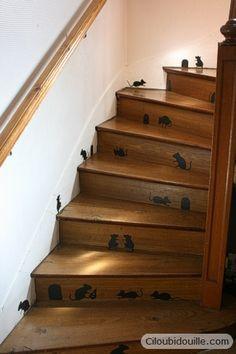 Ciloubidouille » Escalier rempli de souris