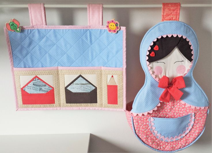 very cute organizers that also can decorate your sewing room or any room in your home... Matrioska organizer the original idea is a diaper bag that can give a very special touch on your baby room.. special credits to Marcia Satiko and Debora Radke... great crafters with lots of great ideas.