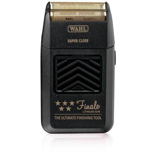 Wahl 5 Star Finale 8164 Lithium-Ion Rechargeable Hypoallergenic Bump Free Foil Shaver Black