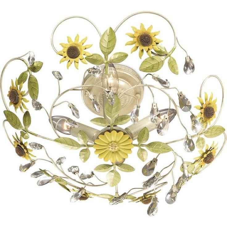 Люстра потолочная Odeon Light Sunflower 2651/4C - купить в интернет магазинах Москвы по лучшей цене. Люстра потолочная Odeon Light Sunflower 2651/4C - отзывы, фото, видео, характеристики, описание, сравнение. Быстрая доставка!