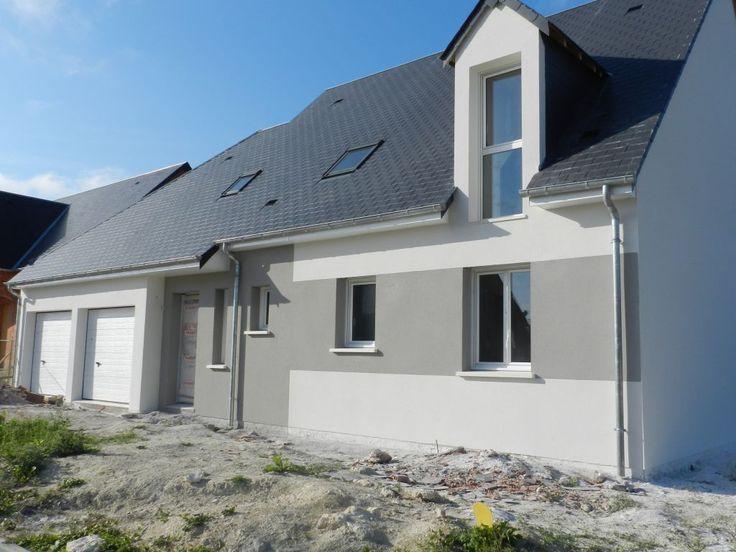 Best Maison Toit Plat Images On   Cement Render
