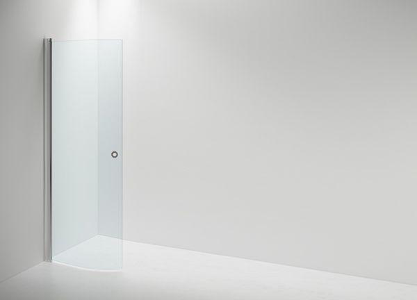 LINC Niagara yhdellä ovella on hyvä ratkaisu silloin, kun et käytä suihkua ja haluat taittaa suihkuseinän pois tieltä.