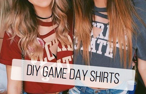 Fall weather, tailgates, game day outfits… Football season is finally in full swing!  One of my favorite things about game days is all the different outfits that girls come up with. Recently, I've seen so many different DIY shirts that are super cute and so easy to make!  Here are two different DIY game day […]