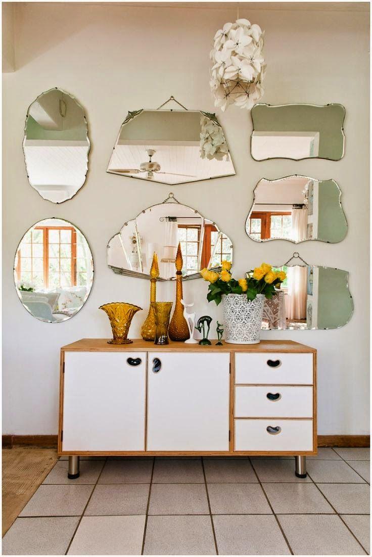 80 idées pour une jolie décoration murale | Mirror mirror