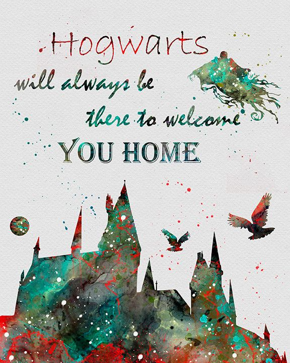 Harry Potter Hogwarts Quote I could cry every time I hear/see this quote, which is very frequent... I❤️HP