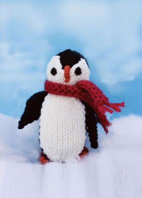 Knit Penguin, large