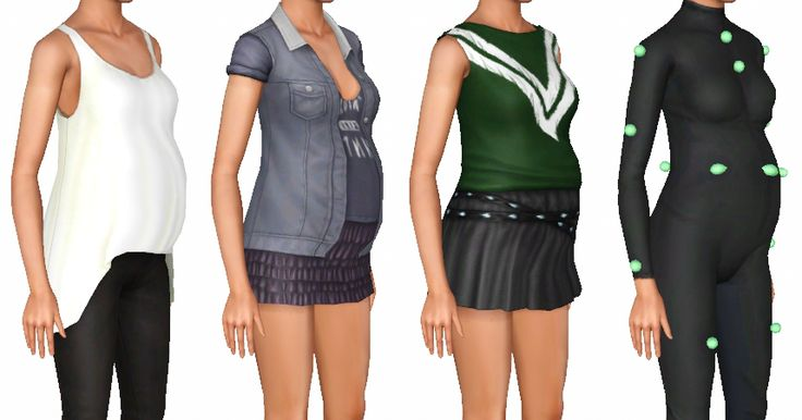 My Sims 3 Blog: All University Life and Late Night Maternity Enabled Defaults by OneEuroMutt