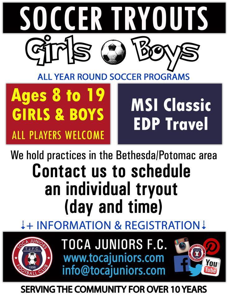 🛑 #TRYOUTS ⚽ #Soccer #Football #Futbol 🏆 #MSIclassic #EDPsoccer 👨👩👧👦 #Kids #Girls #Boys 🗺️ #Potomac #Bethesda #MD #MoCo