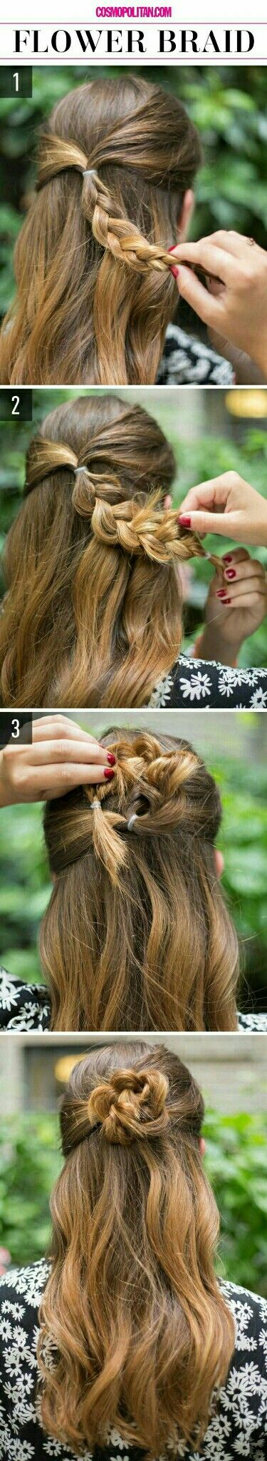It looks so adorable and is quick to do especially for late morning days. Not to forget, it's darn easy.