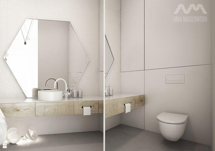 Łazienka styl Minimalistyczny - zdjęcie od Ania Masłowska