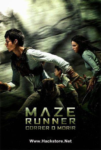 Poster de Maze Runner: Correr O Morir (2014) DVDRip Latino
