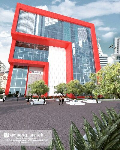 Sketchup Office building