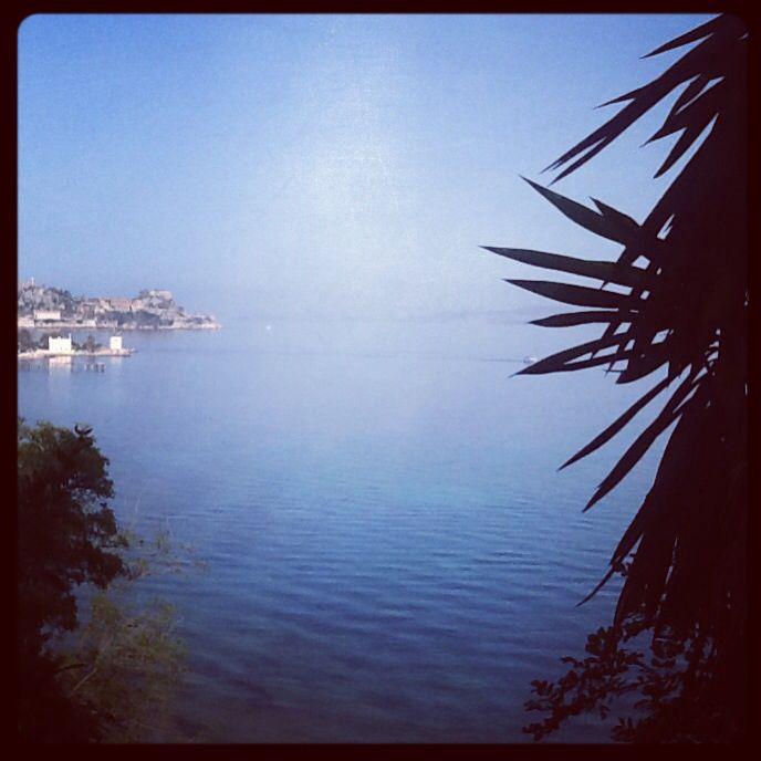 Corfu, mon repos, view