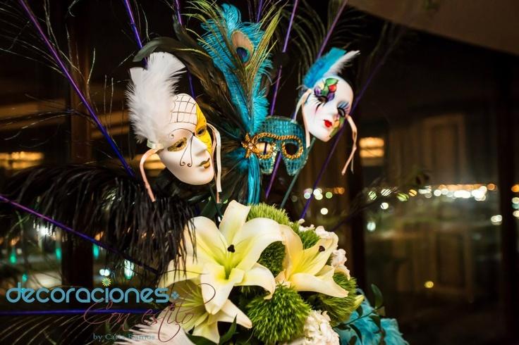 Decoraci n carnaval decoraci n carnaval m scaras - Decoracion de carnaval ...