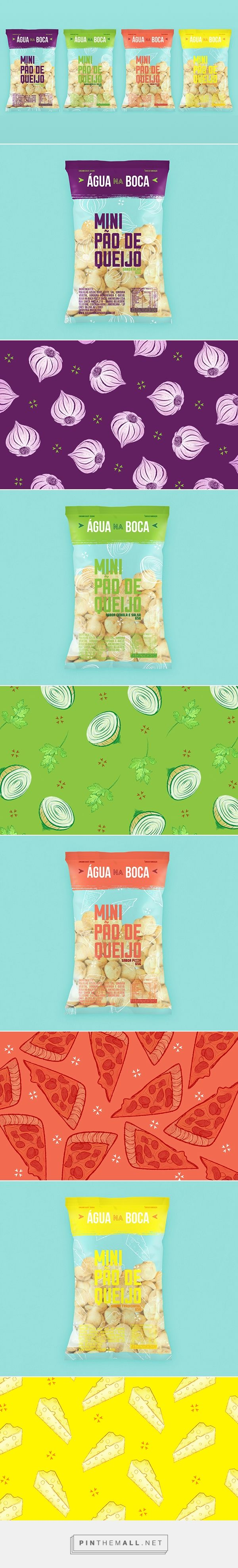 Embalagens - Água na Boca / Packaging project for a small bakery based in Brazil