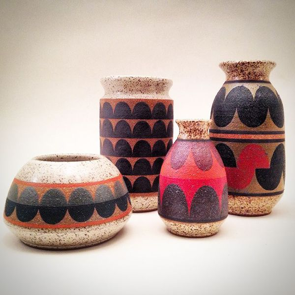 anthology-mag-blog-kat-and-roger-ceramics-3 ~Well, could have seen that coming. After the 90's & 80's revival, here come the '70's. Including ugly pottery.