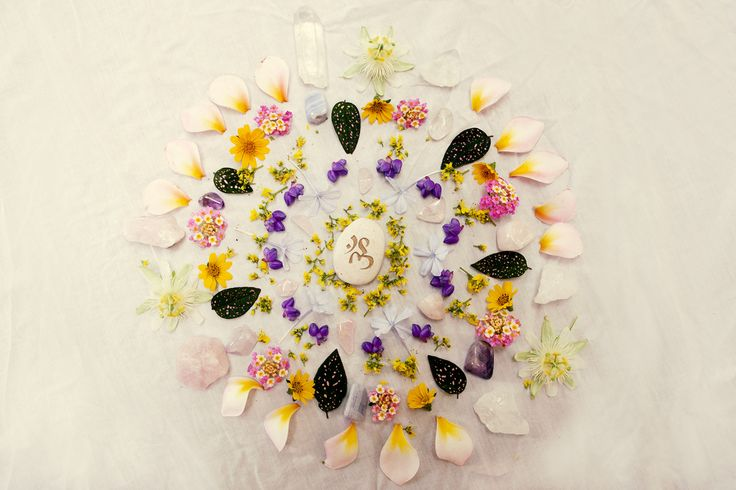 Floral Mandala, perfect for resetting and refocusing your week