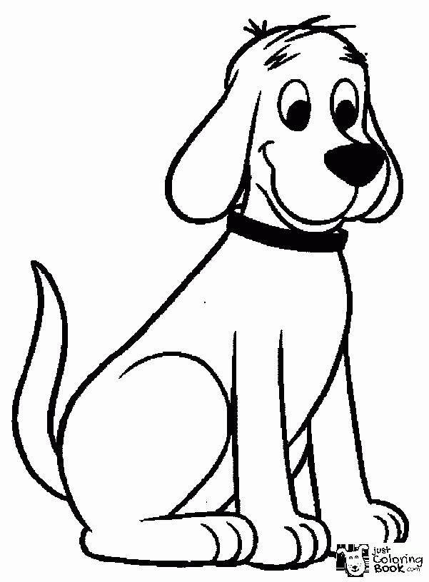 Clifford The Big Red Dog Coloring Pages Wecoloringpage Dog Throughout Running Dog Coloring Pag Dog Coloring Page Animal Coloring Pages Cartoon Coloring Pages