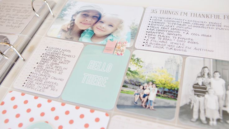 Getting Started with Project Life | Becky Higgins