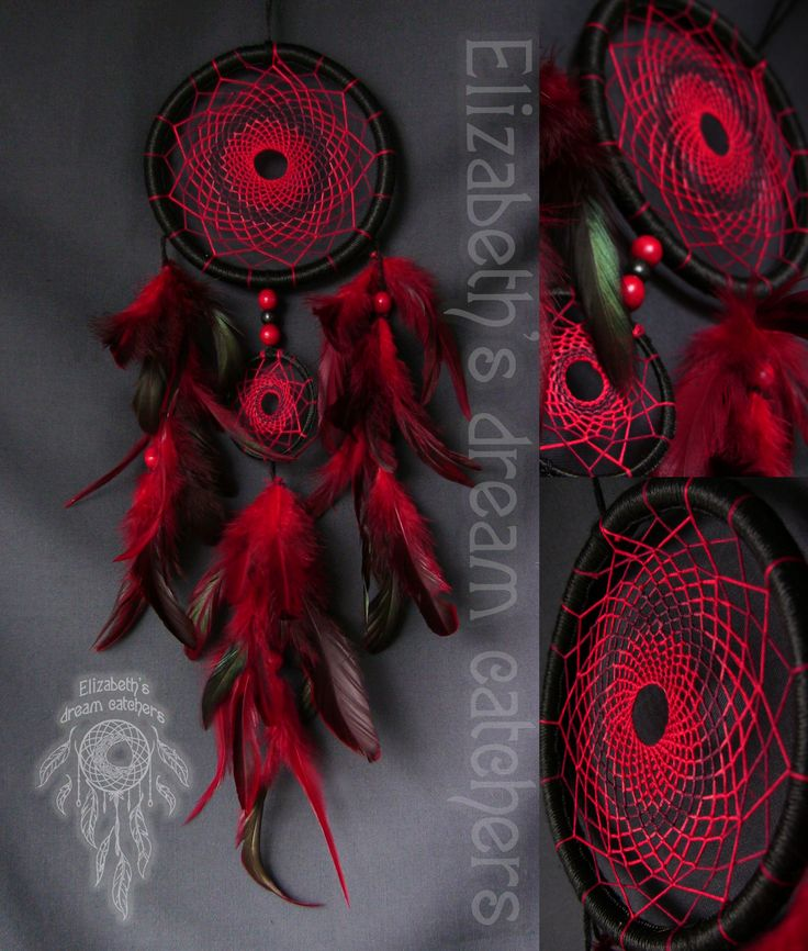 Dream catchers are arts and crafts of the Native American people.