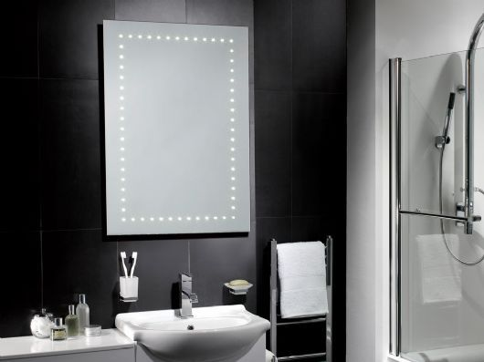 Iris LED Battery Operated Mirror Is A Brand New Addition To Our Range No Wiring