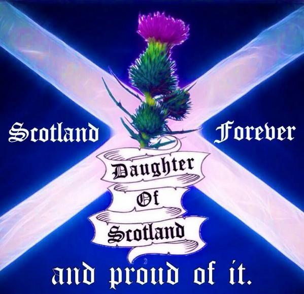 Proud of my Scottish roots!