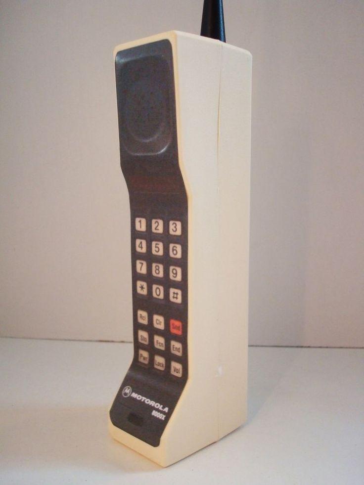 1980's Style Vintage Brick Cell / Mobile Phone Prop. Motorola DynaTAC 8000x.  in Mobile Phones & Communication, Other Phones | eBay!