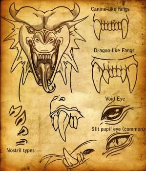 Drawing  a dragon face, Added by Dawn, May 18, 2009, 9:01:11 pm