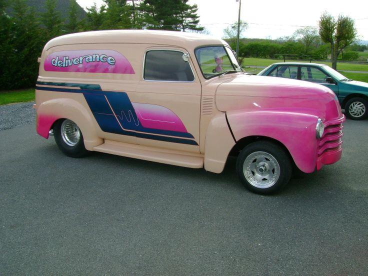 1948 Chevrolet Custom Panel Truck Panel Trucks Amp Sedan